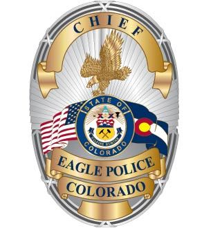 Eagle PD Chief Badge